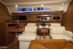 Catalina 355 interior; Annapolis, MD