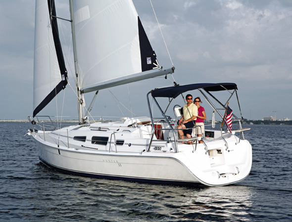 Marlow Hunter 33 - New & Used Boats and Yachts - IVT Yacht Sales