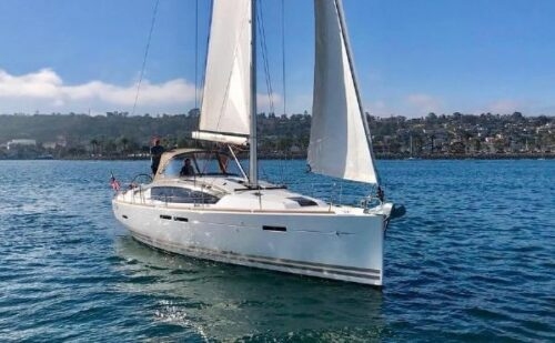 Jeanneau 44DS Sailboat